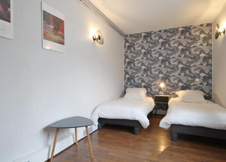 Chambre d'hôtes L'havre de Saint Germain – La chambre jaune
