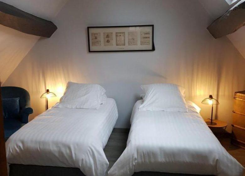 Chambre d'hôtes L'havre de Saint Germain – L' Appartement